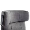 Club2 Riser Chair Gray - detail: headrest