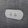 Club3 Riser Chair Gray - detail: control buttons