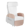 Club Riser Arrmchair Beige - zoom - detail: protective seat covers