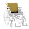 Extra Back Cushion Green - Extra Wheelchair Upholstery and cushion