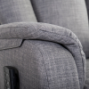 Club2 Soft Aufstehsessel Grau - Detail: Armlehne
