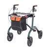 Carbon Rollator Tasche braun