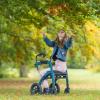 Rollz Motion Performance Grün - Rollstuhl Rollator - Rollator im Frühling