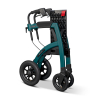 Rollz Motion Performance Grün - Rollstuhl Rollator - Freisteller zusammengeklappt