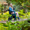 Rollz Motion Performance Grün - Rollstuhl Rollator - Sitzen auf dem Rollstuhl