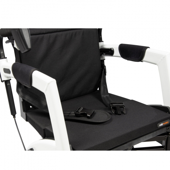 Rollz Motion Weiß - Rollstuhl Rollator - Detail: Sicherheitsgurt