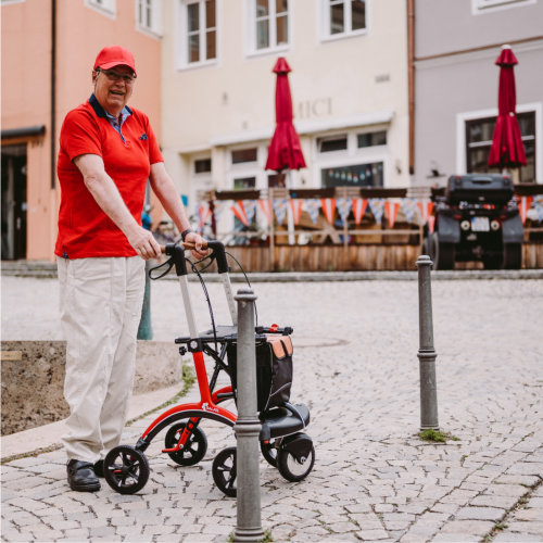 Carbon Rollator - slowly increase activity