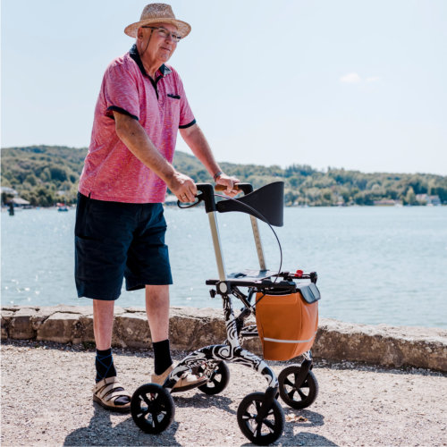 Carbon Rollator - Make routes varied
