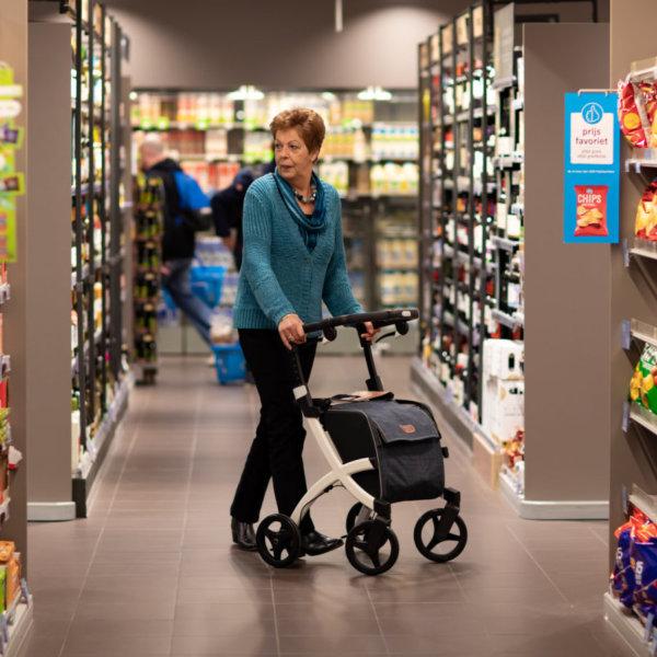 Rollator zum Einkaufen