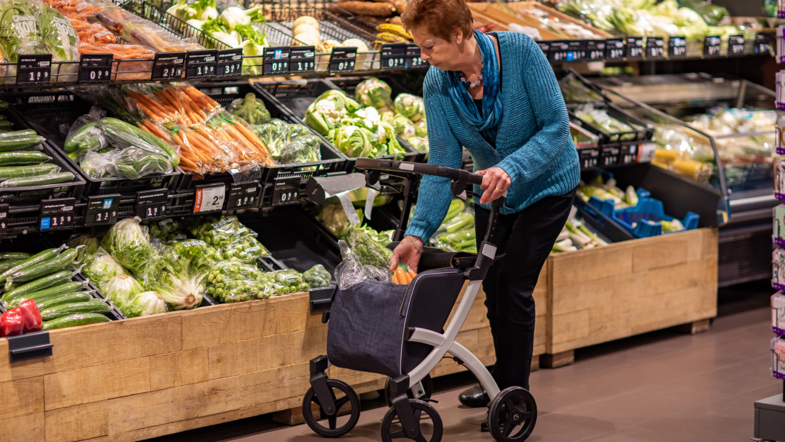 Rollz Flex - in supermarket