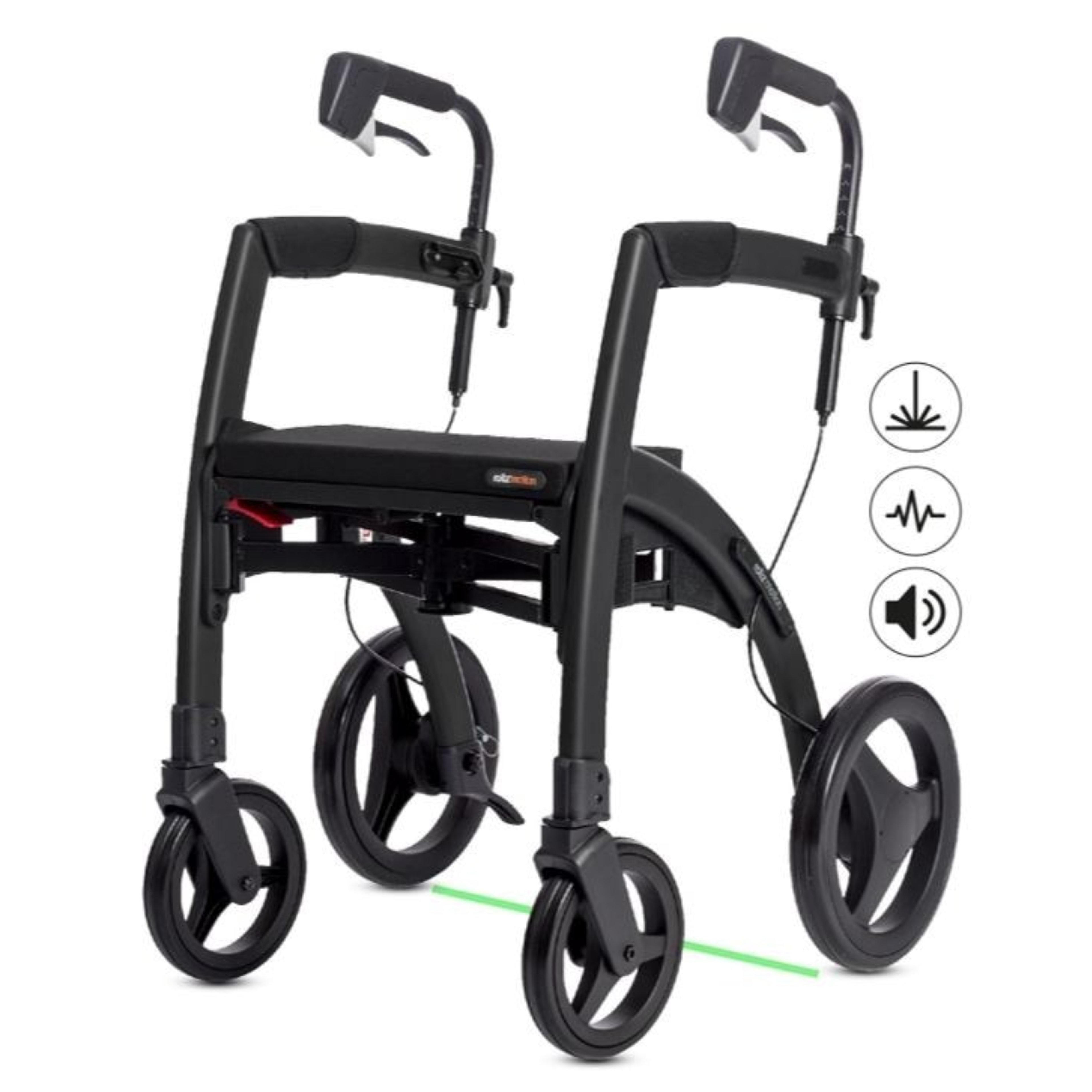 Parkinson Rollator Rollz Motion Rhythm: Drei verschiedene Signale