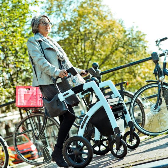 Rollz Motion² Rollator Rollstuhl