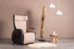 Club2 Riser Chair Beige - front view