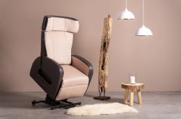 Club2 Riser Chair Beige - stand-up