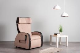 Club3 Riser Chair Beige - front view