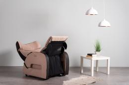 Club3 Riser Chair Beige - front view heart-balance-position