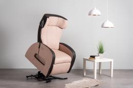 Club3 Riser Chair Beige - stand-up