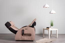Club3 Riser Chair Beige - side view heart-balance-position