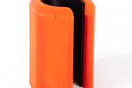 Held Magnetstockhalter Orange - Freisteller