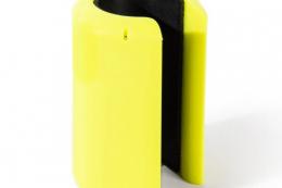 Held Magnetstockhalter Neongelb - Freisteller