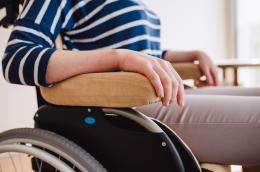 Extra Rollstuhlkissen Beige - Armlehnenpolster