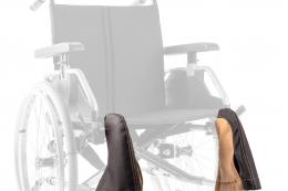 Extra Rollstuhlkissen - Detail Fußstützenpolster