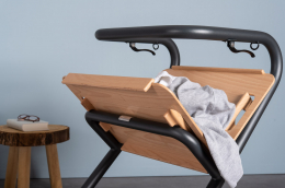 Page Tray - Page Indoor Rollator Anthrazit - laundry basket