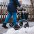 Carbon Rollator von Saljol im Winter